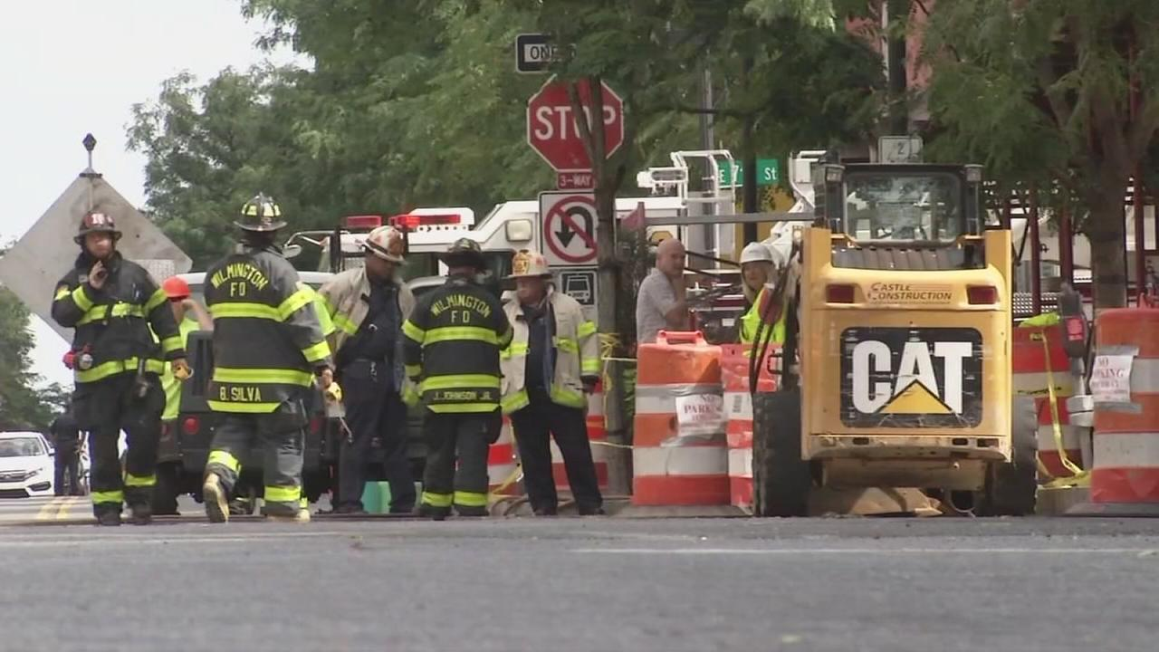 Underground fire in Wilmington