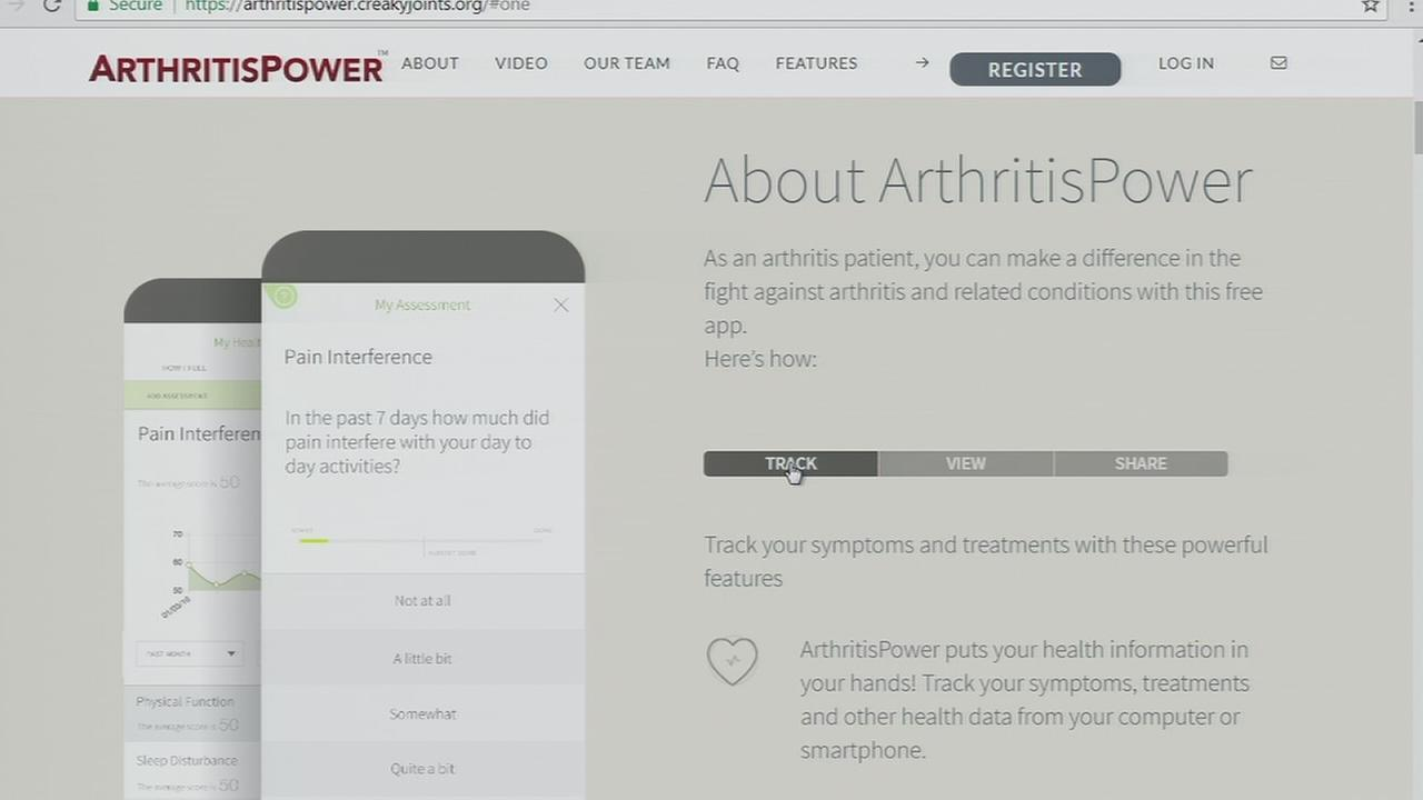 Philadelphia woman helping arthritis patients with new app