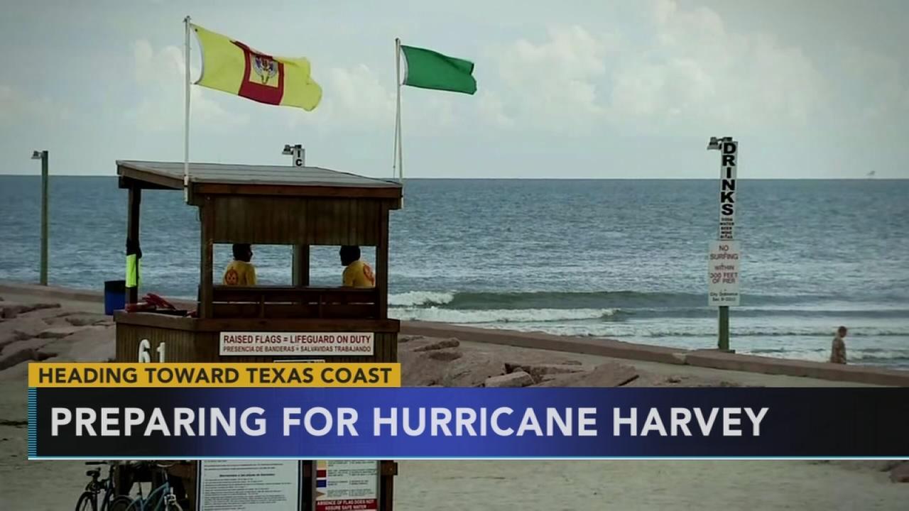 Preparing for Hurricane Harvey