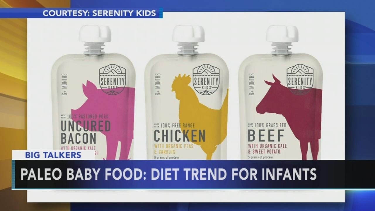 Company creates paleo diet baby food