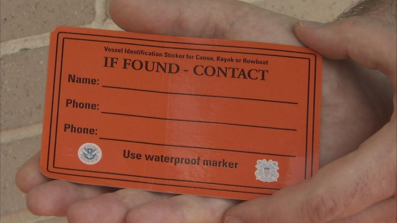 Coast Guard: ID your canoe, kayak or paddleboat