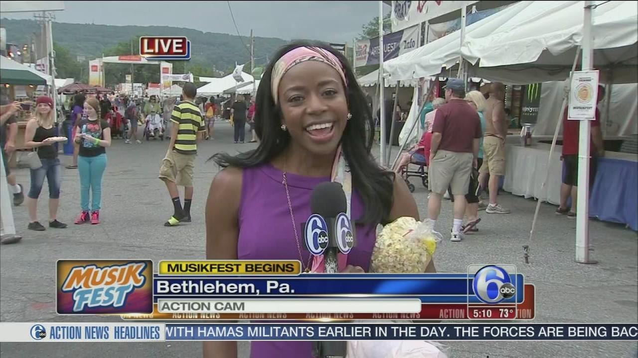 VIDEO: Melissa Magee reports from Musikfest