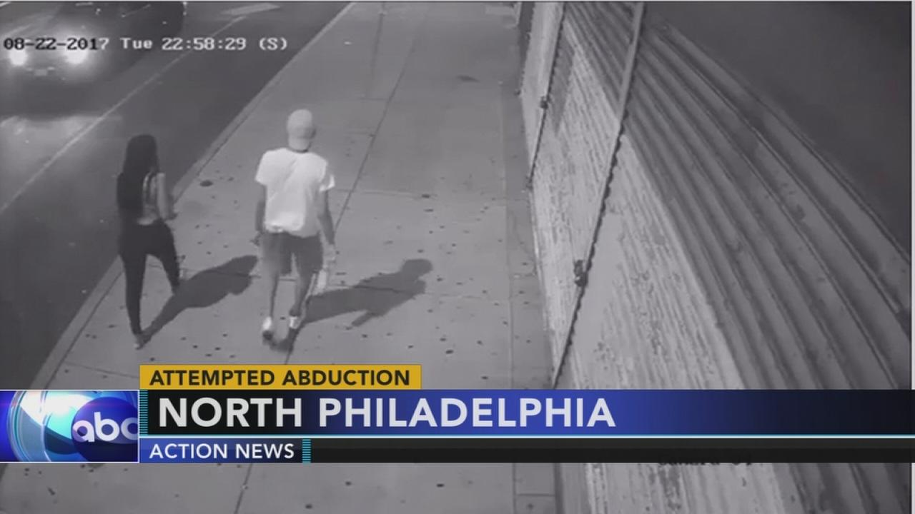 VIDEO: Surveillance released in Broad St. attempted abduction
