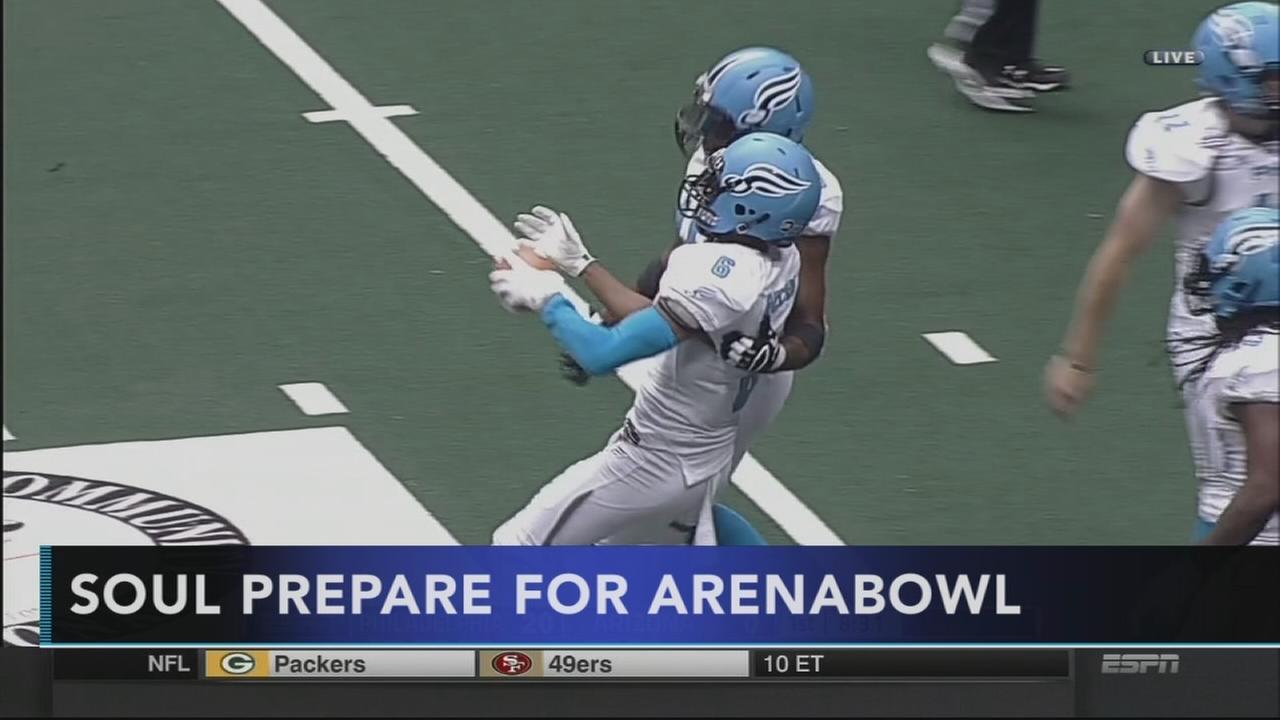 The Philadelphia Soul prepare for ArenaBowlXXX