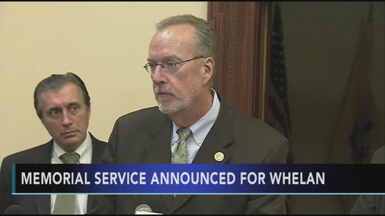 Memorial services announced for NJ State Senator Jim Whelan
