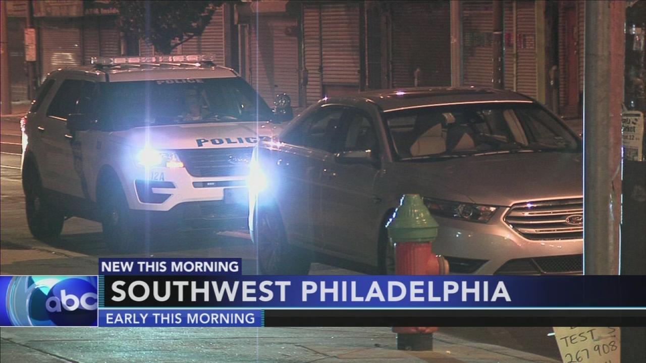 Police investigate suspicious shooting in Southwest Philadelphia
