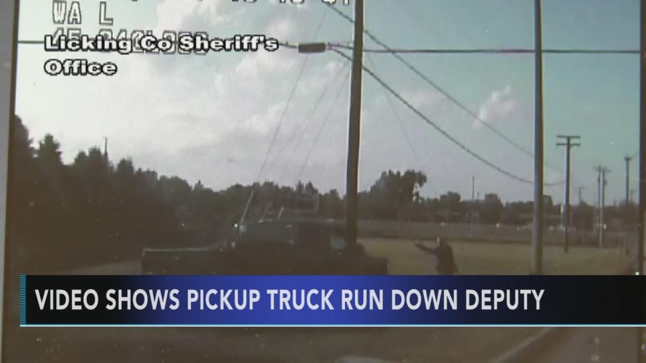 Ohio deputy run over during police chase