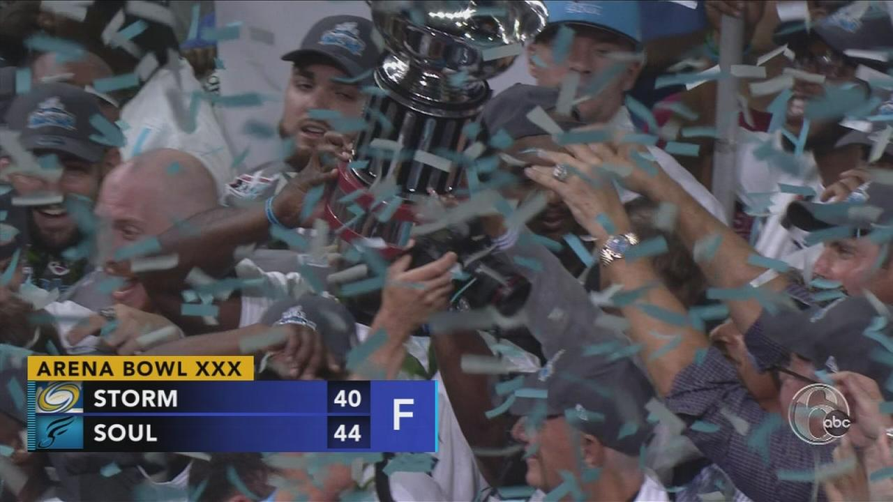 Soul win ArenaBowl Championship
