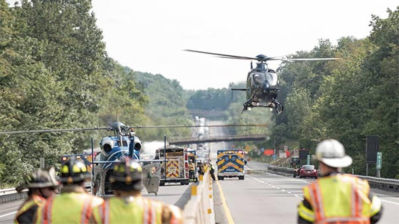 Critical injuries reported after NE Extension crash