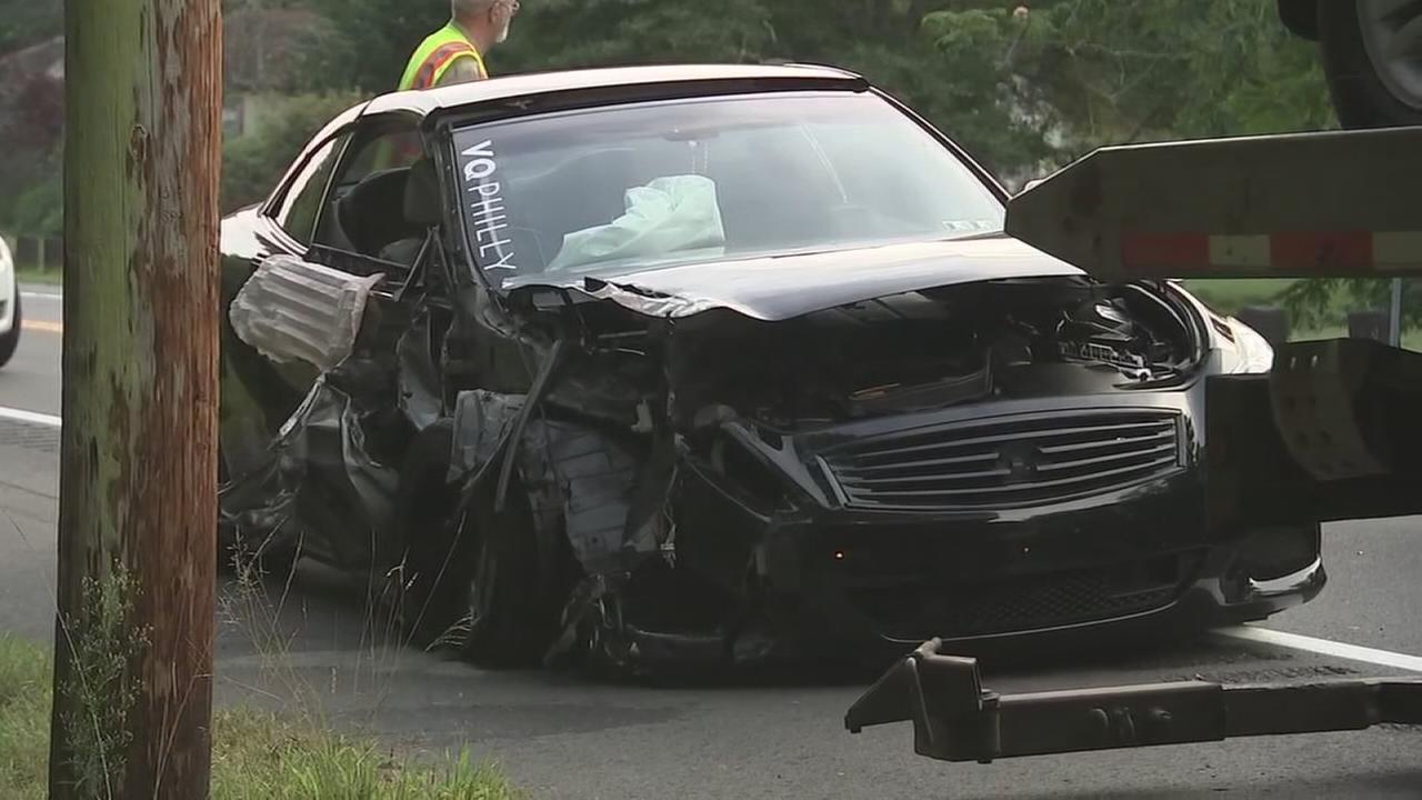 1 injured in multi-vehicle crash in Atlantic County