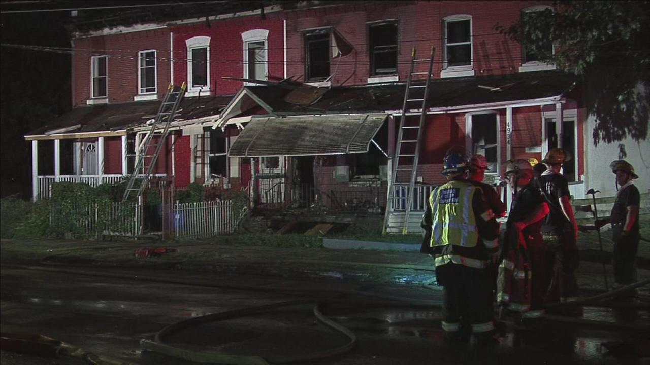 Firefighter hurt in SW Philly