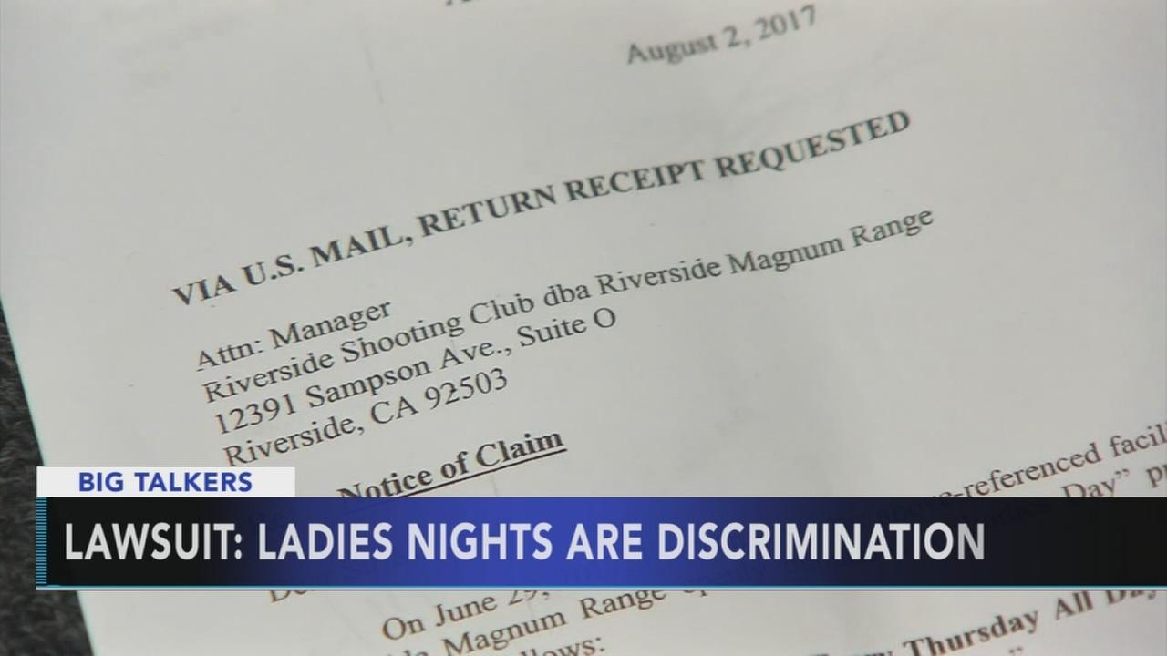 California gun range cancels ladies night over lawsuit