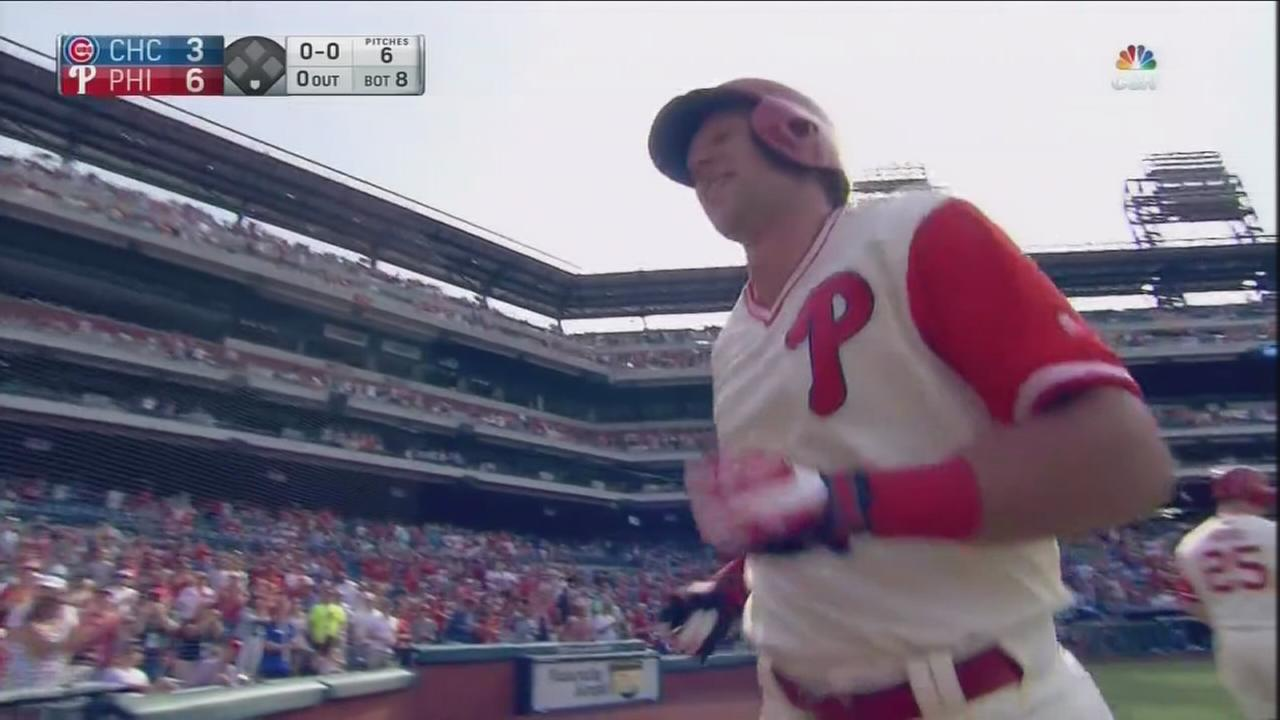 Phillies phenom Rhys Hoskins earning national attention