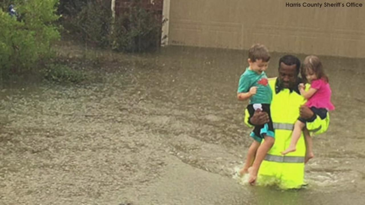VIDEO: Powerful photos in wake of Harvey