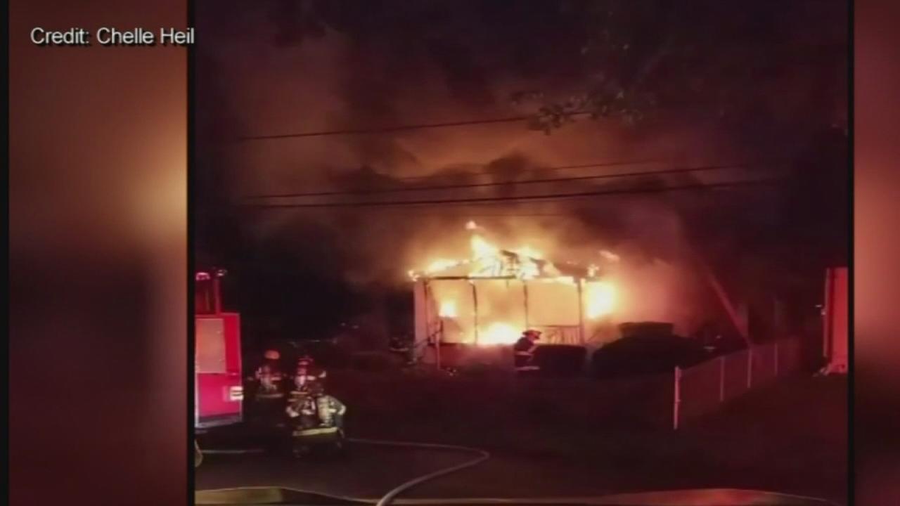 Couple killed in Bucks Co. fire