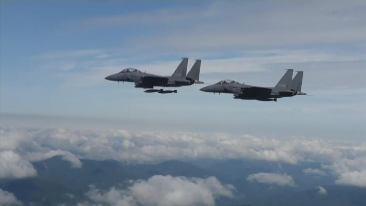 US flies bombers, fighters in show of force against N. Korea