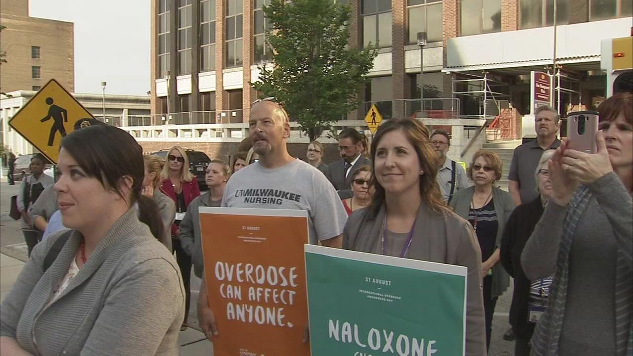 Marking Overdose Awareness Day