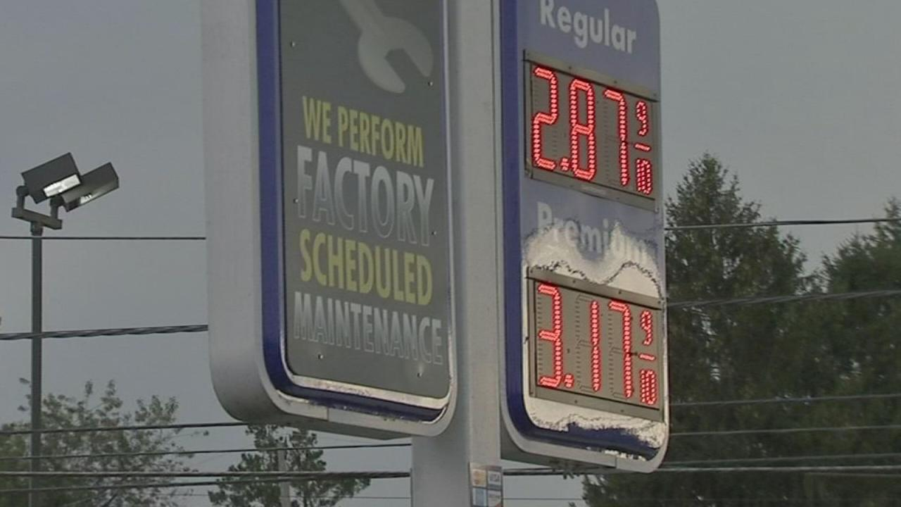 Gas prices on the rise after Hurricane Harvey