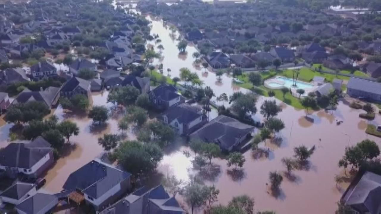 Assessing the damage one week after Harvey hits