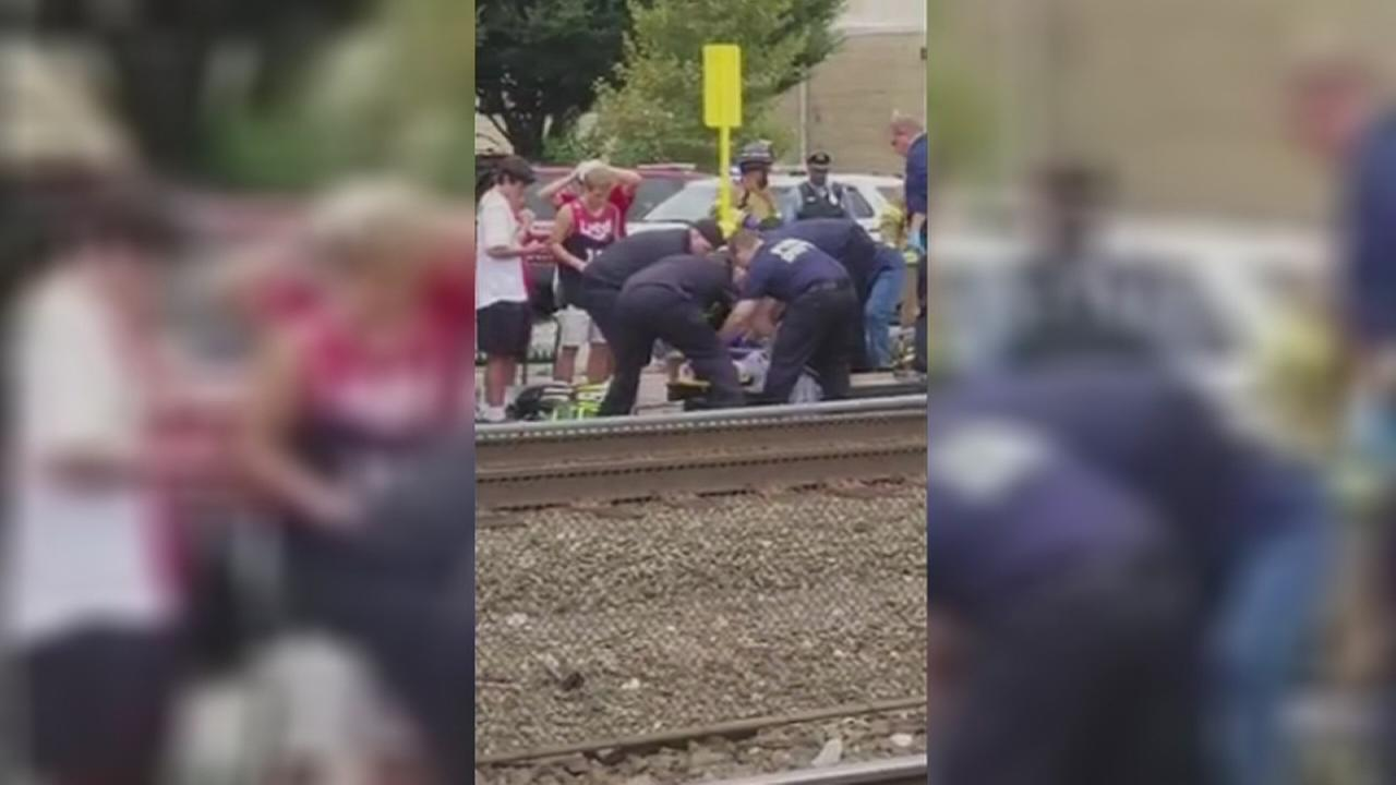 16-year-old struck by train in Chester County