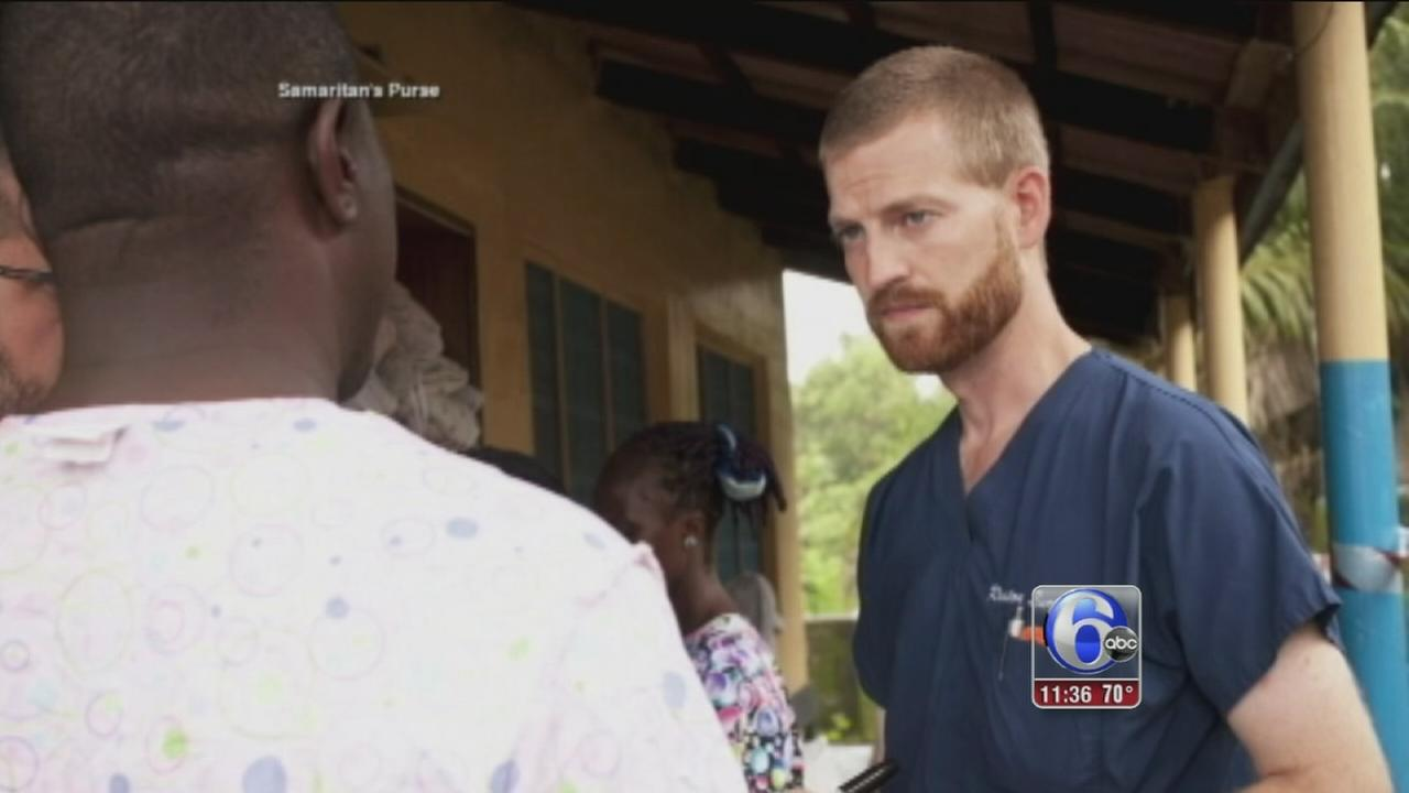 VIDEO: American doctor with Ebola in Atlanta for treatment