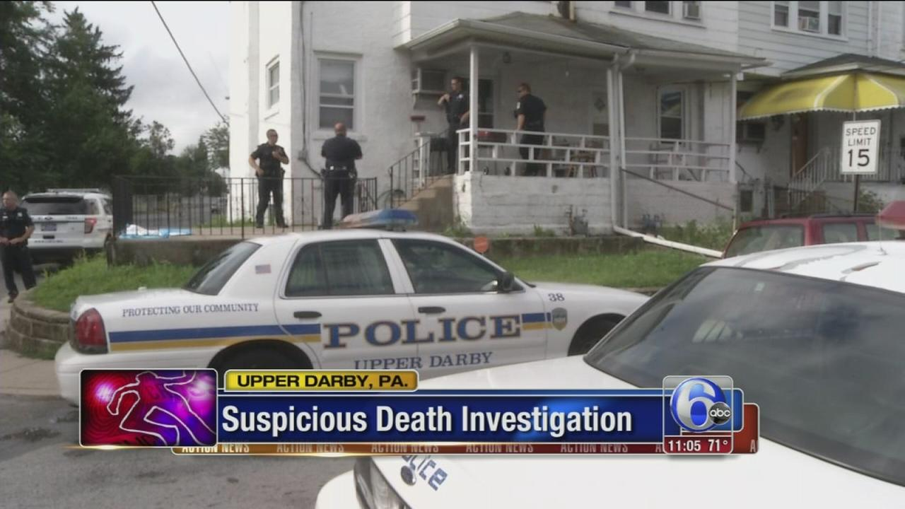 VIDEO: Husband sought in suspicious death of Upper Darby woman
