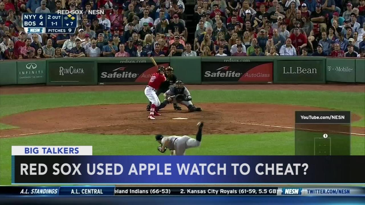 Report: Red Sox used Apple Watch to steal Yankees signs