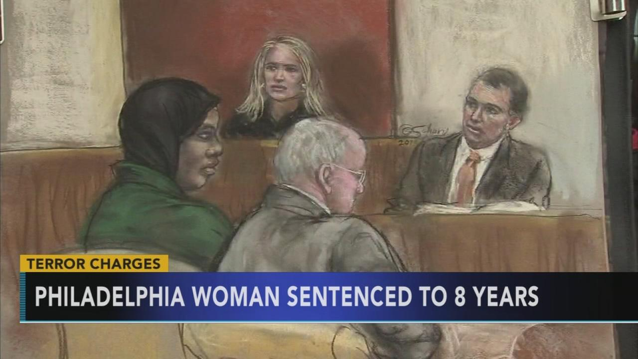 Philadelphia woman sentenced to 8 years