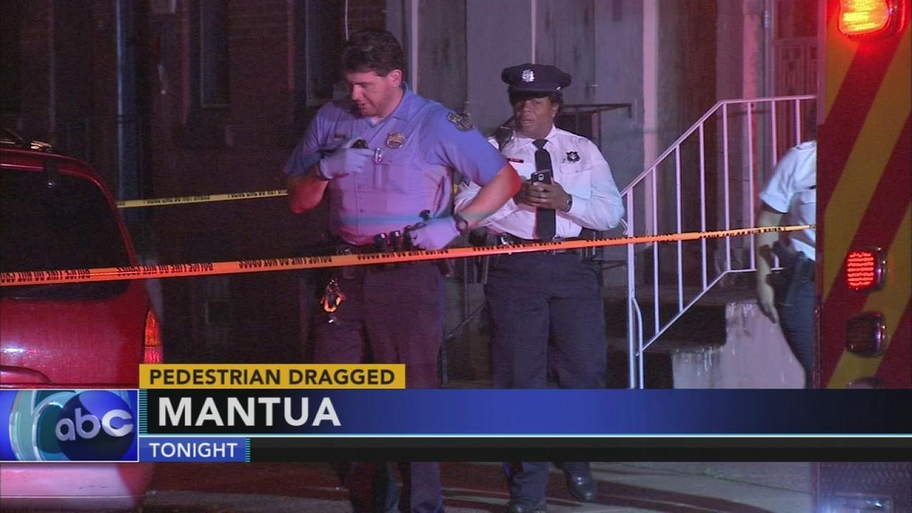 Pedestrian dragged in Mantua