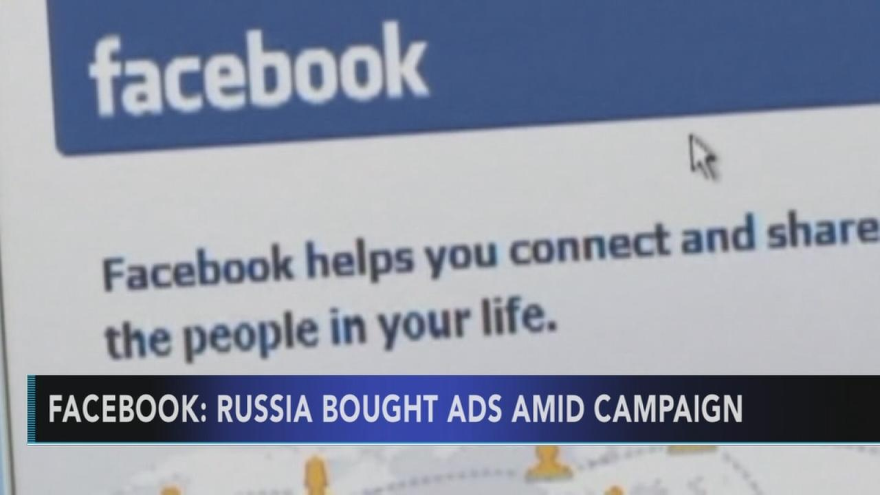 Facebook: Accounts from Russia bought ads during US campaign
