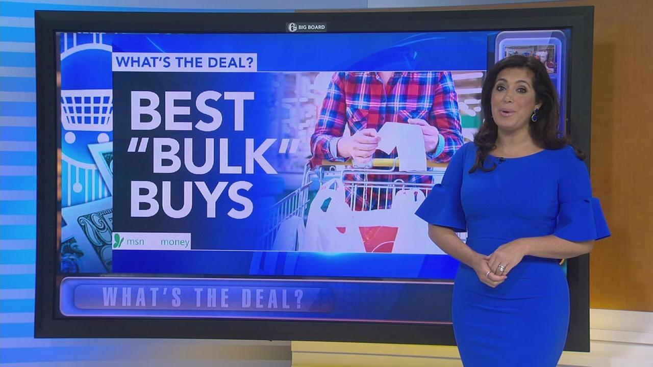 Whats the Deal: Best items to buy in bulk