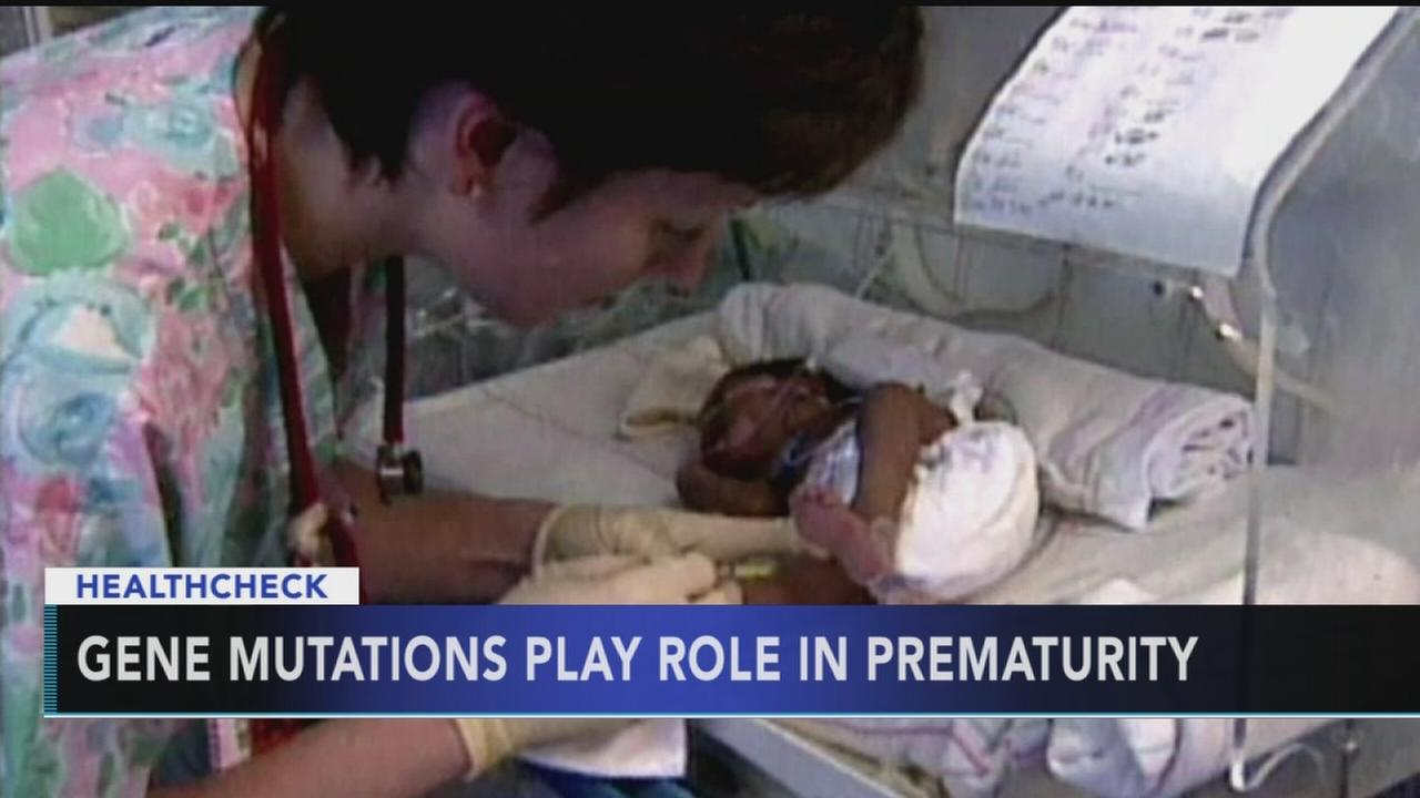 Study: Gene mutations play a role in premature birth