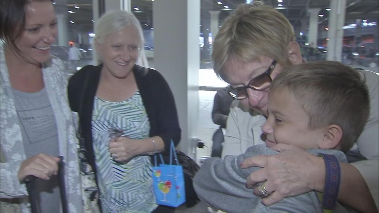 Families fleeing Irma arrive in Philadelphia
