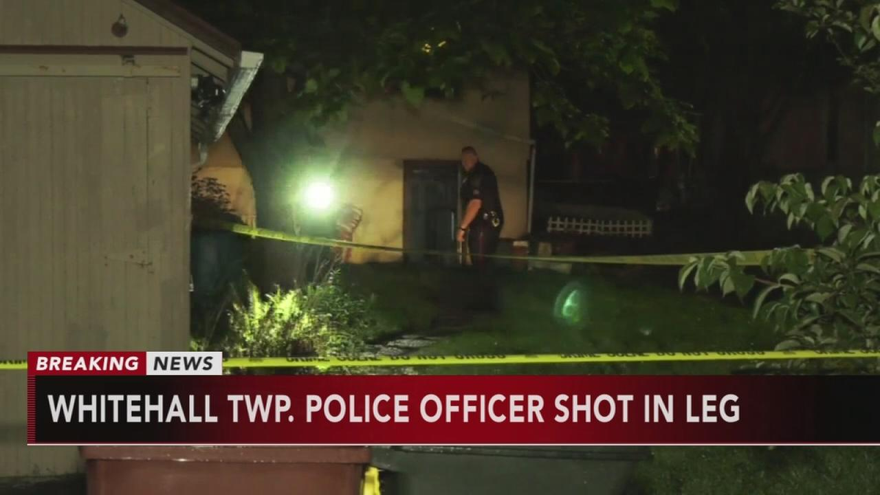 Officer shot in Whitehall Twp.