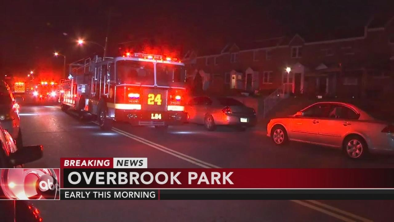 Burned body found in Overbrook Park