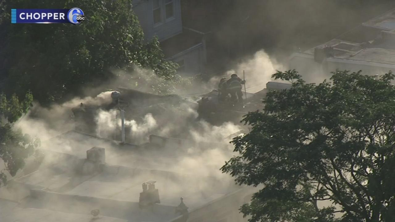 Fire in Strawberry Mansion