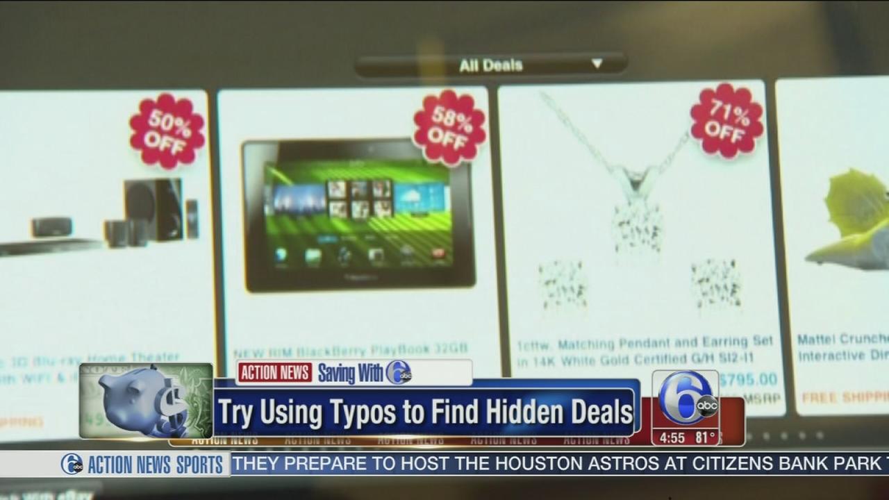 VIDEO: Find typos to find deals!