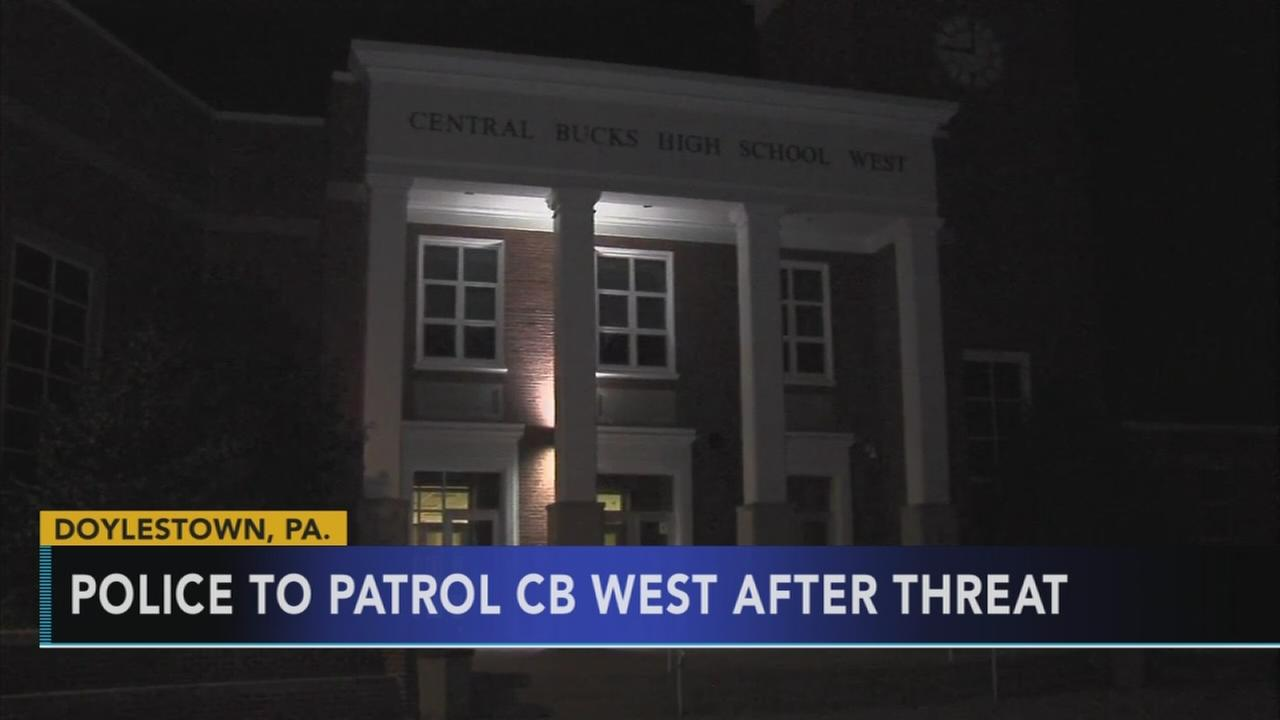 Police investigate threat against Bucks County school