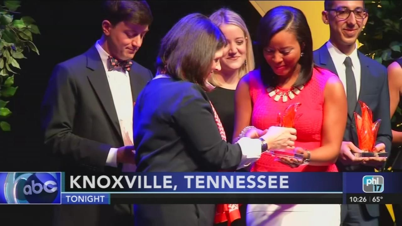 Shari Williams honored in Knoxville