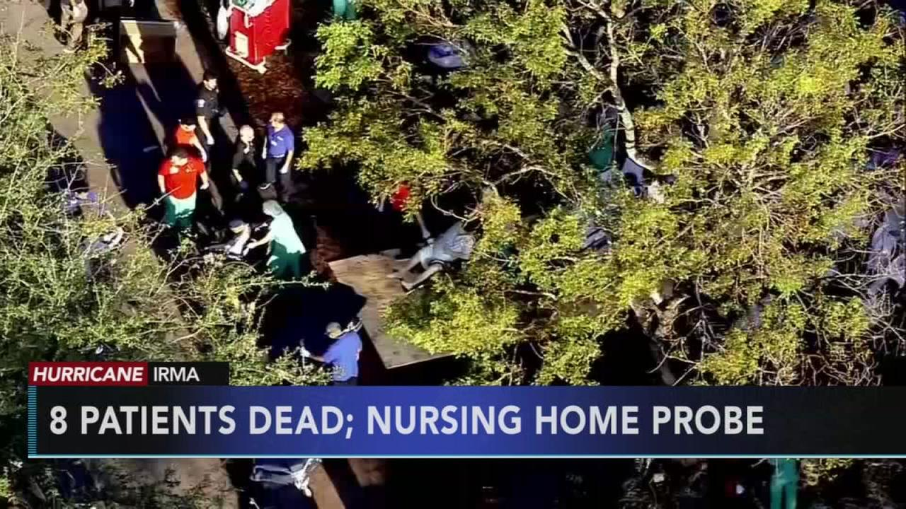 8 die at Florida nursing home in Irmas sweltering aftermath