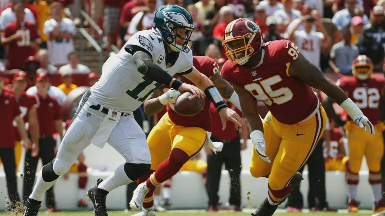 6abc Sports Flash: Eagles win over Redskins