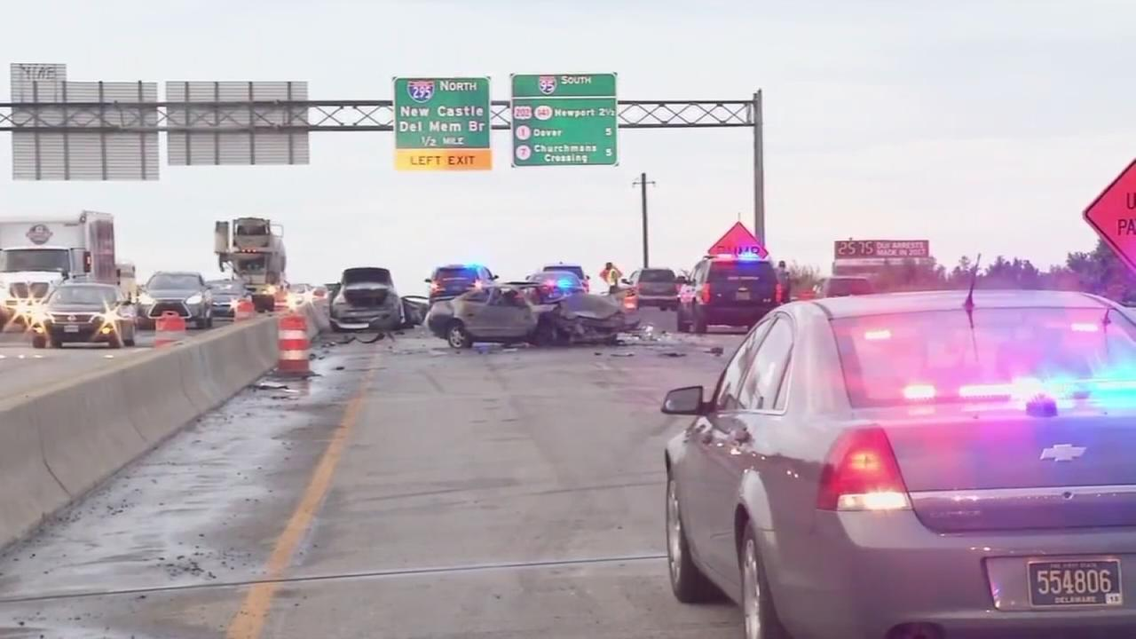 Fatal crash on I-95