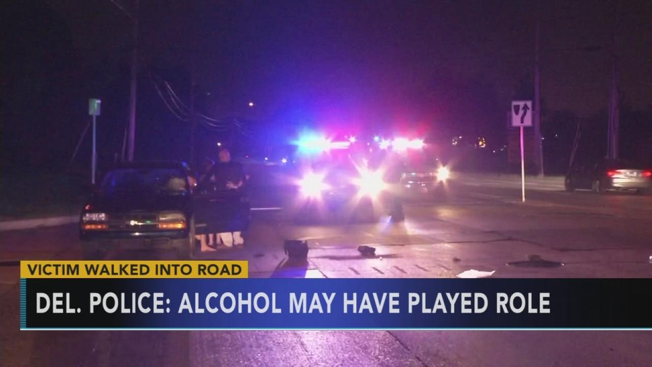 Police: Man hit by truck may have been under influence