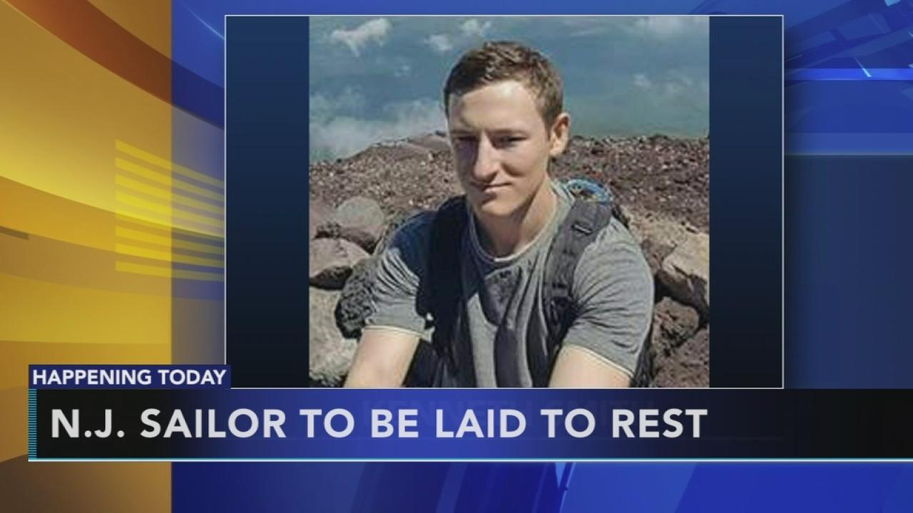 New Jersey sailor to be laid to rest