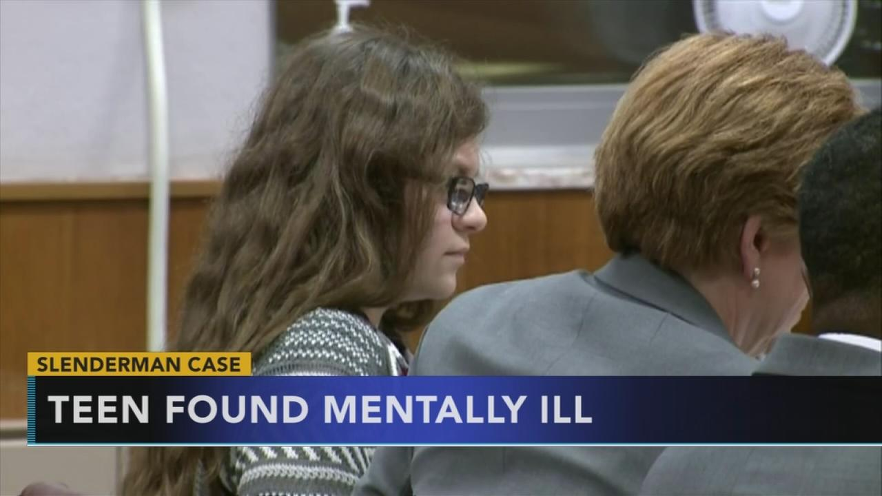 Teen in slender man case found mentally ill