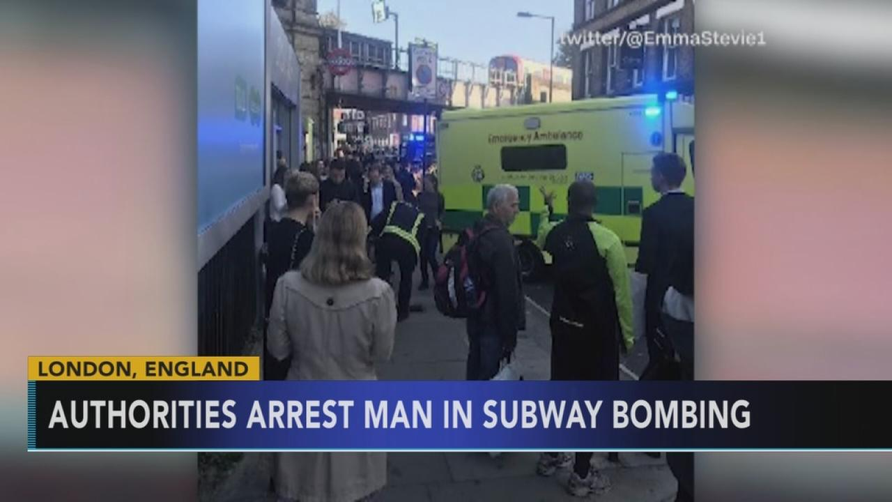 UK police make significant arrest in London subway blast