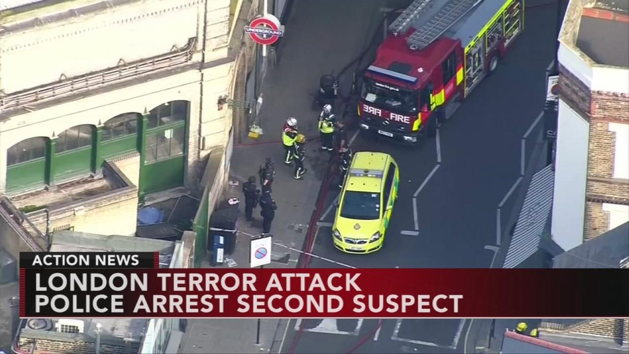 2nd arrest made in London terror attack