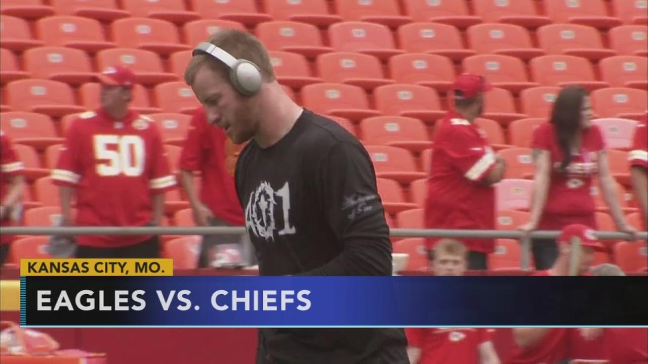 Eagles look to tackle Reid, Chiefs