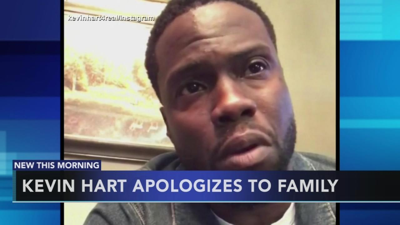 Kevin Hart apologizes