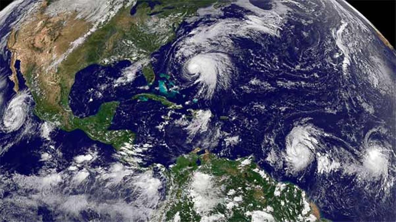Hurricane Maria intensifies into Category 4 hurricane